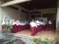 Belajar Sholat Berjamaan (Sholat Dhuha) Khoiru Ummah Sawojajar